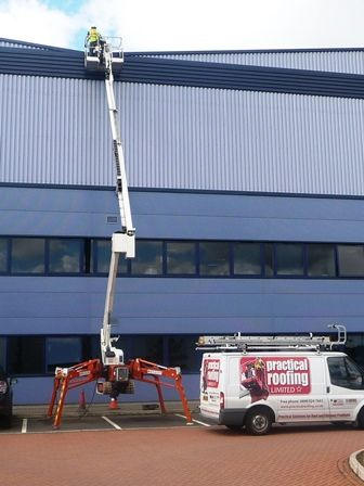 High Level Access Equipment by Walsall Roofing